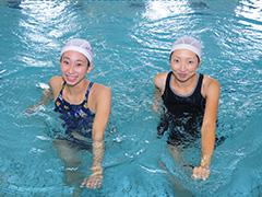簡単水中体操